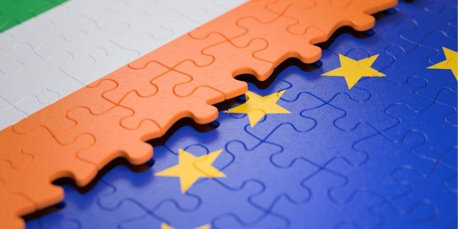 Economía Irlanda miembro de la unión europea
