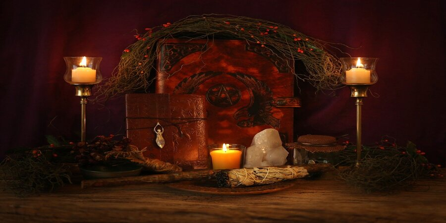 altar de magia celta