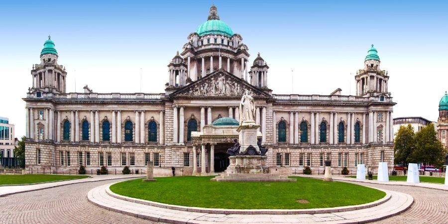 ayuntamiento de la capital de Irlanda del Norte