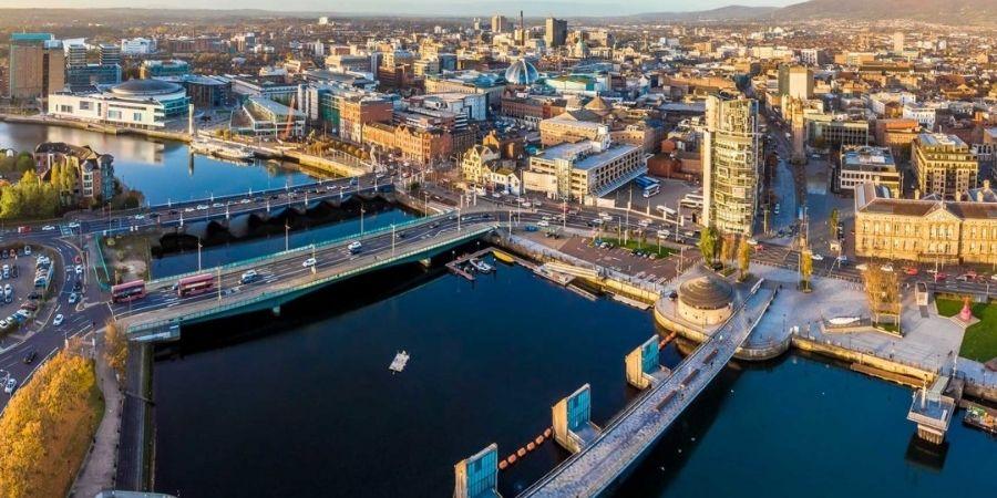 La capital de irlanda del norte, Belfast.