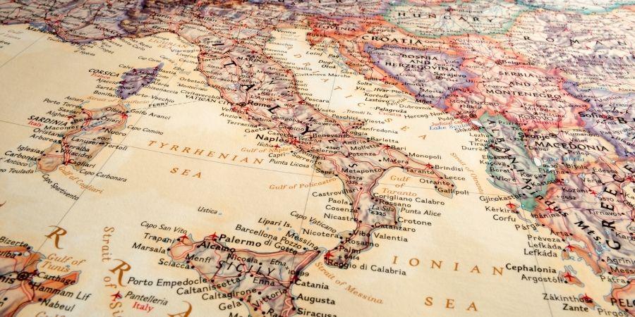 Italia del norte era dominada por los celtas.