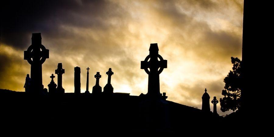 Los dioses celtas son simbolizados en las tumbas.