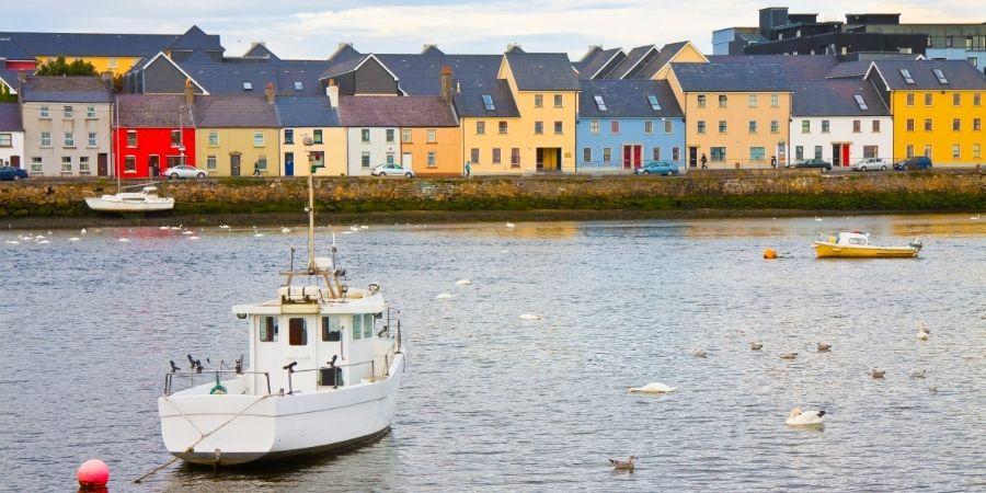 paisajes costeros de Irlanda del norte