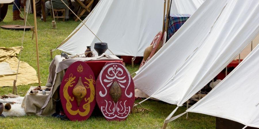 Escudo de protección de los guerreros celtas