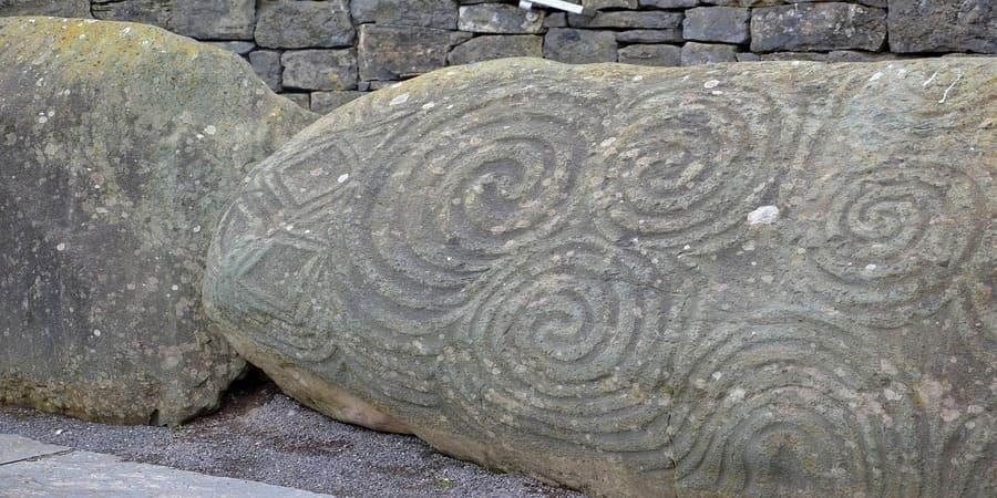 el espiral celta es la representacion del 1