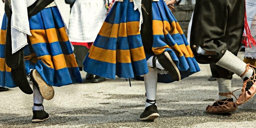 Folklore celta en las naciones que pertenecen a la liga celta.