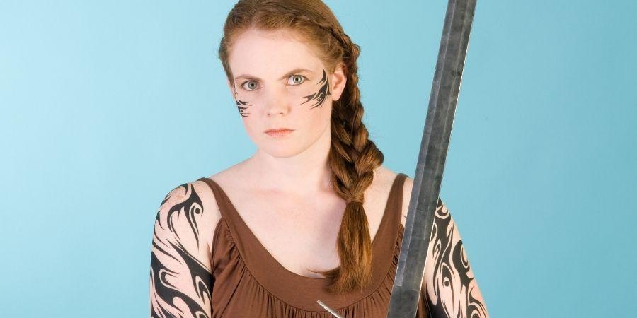 brillantes en las batallas las guerreras celtas