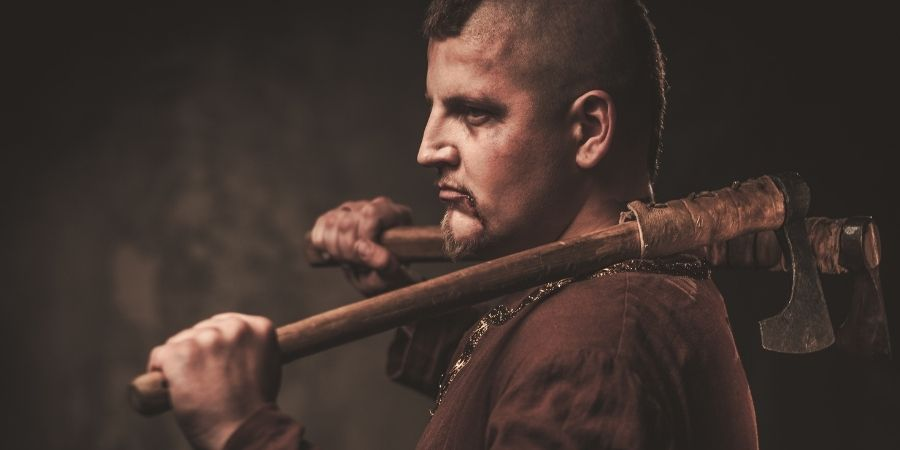 armas de los guerreros celtas