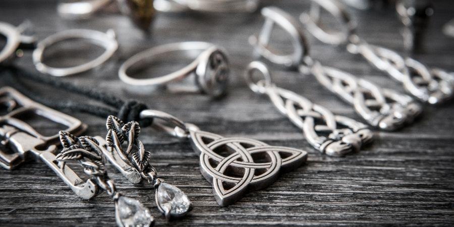 Las joyas entre los celtas eran muy comunes.