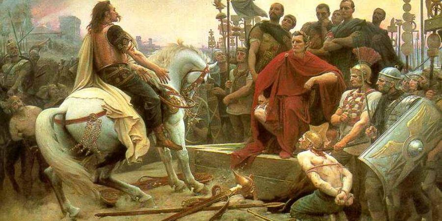 Los romanos causaron estragos en los territorios celtas.