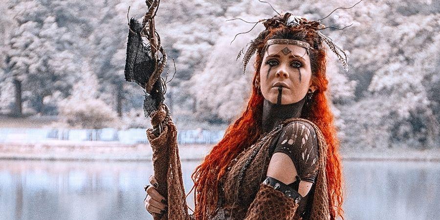 celta origen mujer guerrera