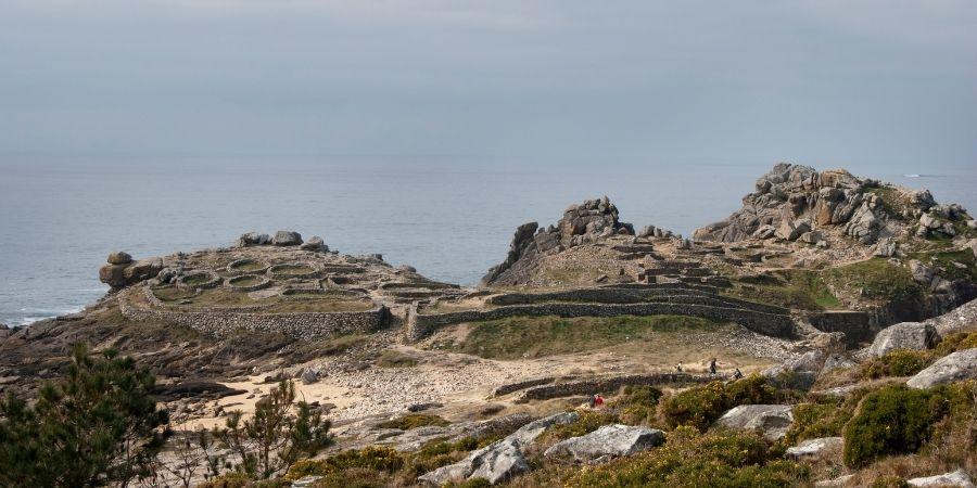 Ruinas de los pueblos celtas
