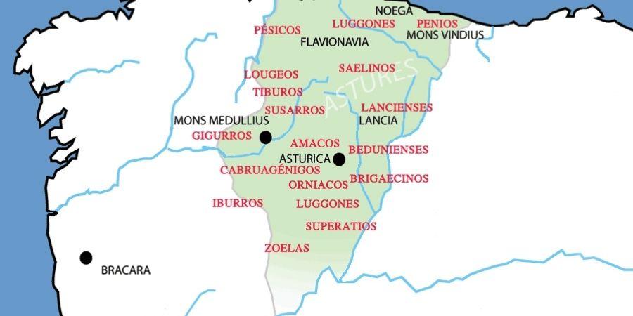 La expansión de los celtas en Asturias.