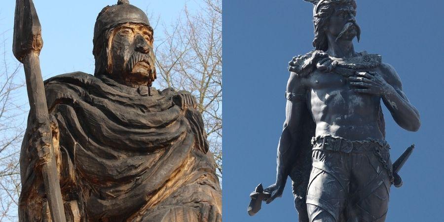 Conquistadores y reyes celtas que llevaban a sus tribus, bases de la mitología céltica