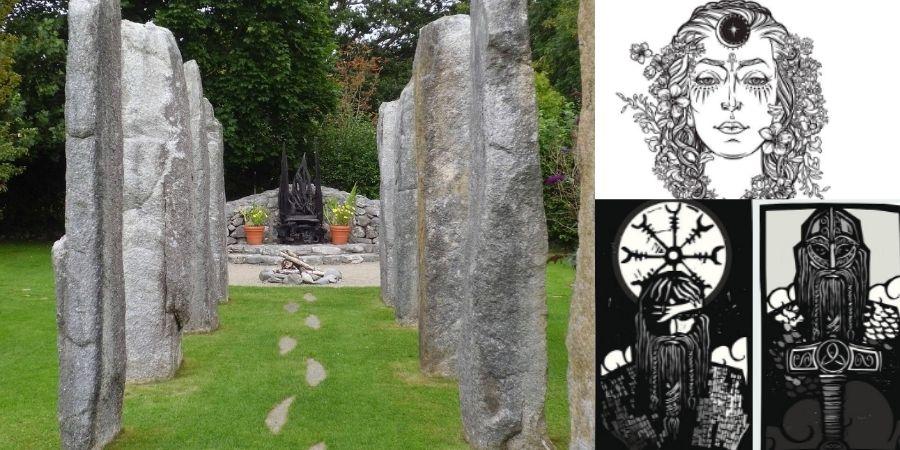 Quienes fueron las deidades adorados por los celtas