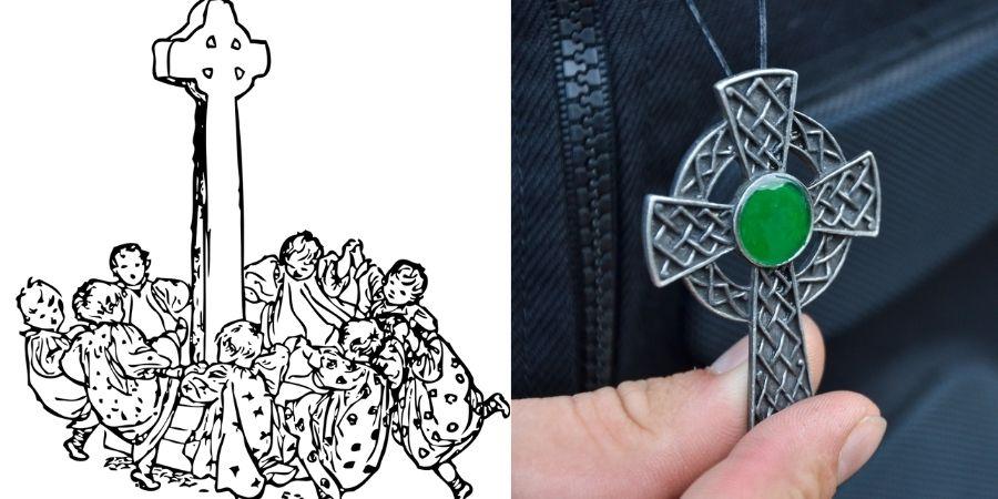 """En la antigüedad era uso pagano """"danza del anillo"""", hoy en día un amuleto de la suerte, tarot y tatto"""