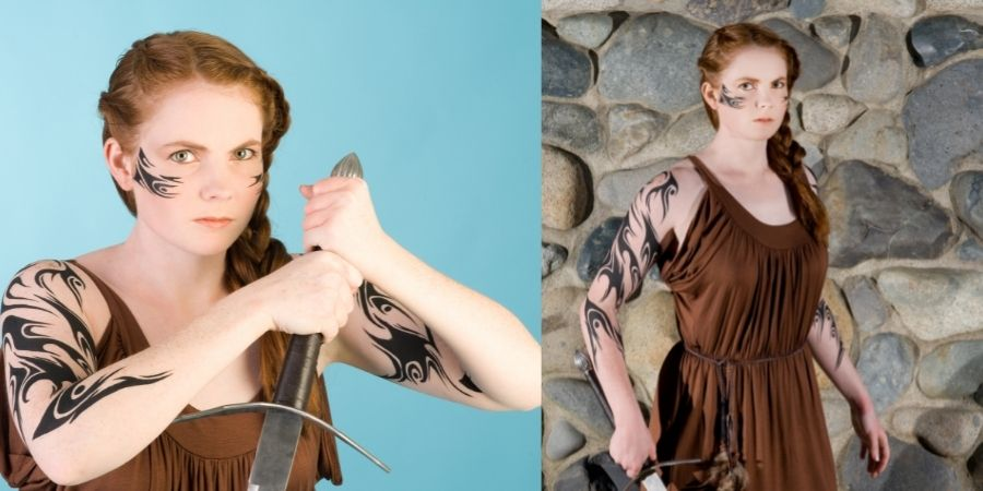 Diseño de Tatuajes celtas asturianos para mujeres
