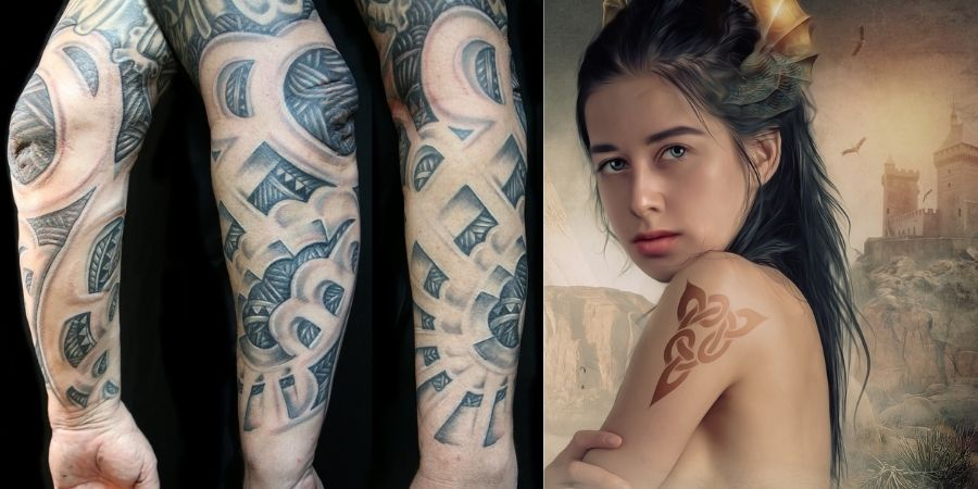 Diseño de tatuajes para el amor, amistad y fuerza
