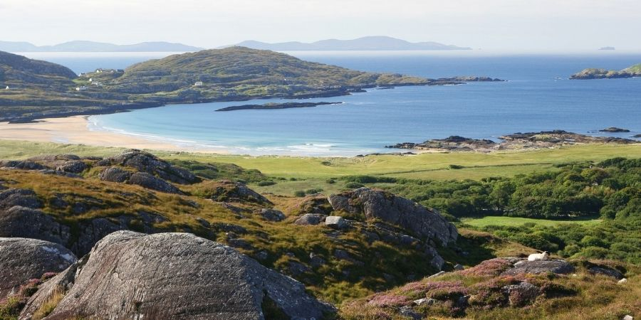 El anillo de Kerry es historia de los Celtas, llegando a ser una Ciudad Celta