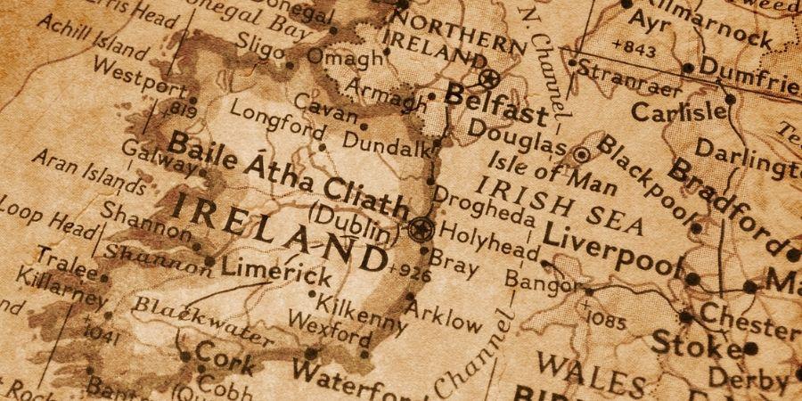 Así era el Mapa Celta en su importante inicio
