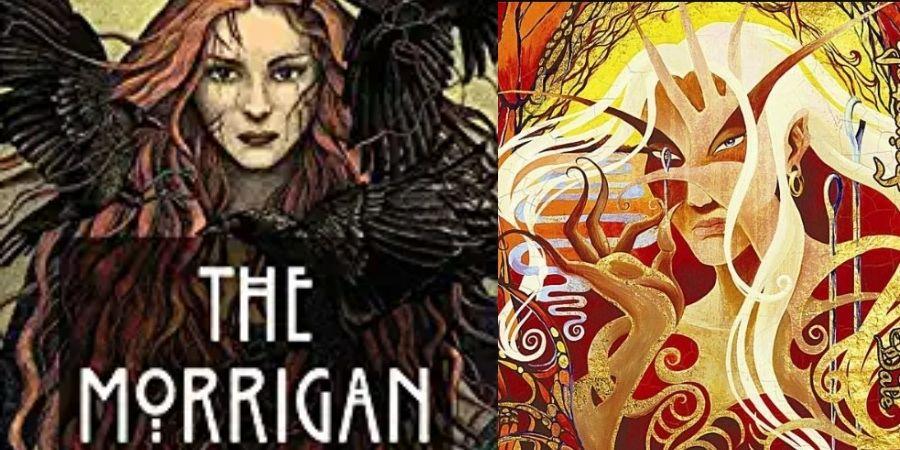 Morrigan es uno de los Nombres de Deidades y héroes Celtas