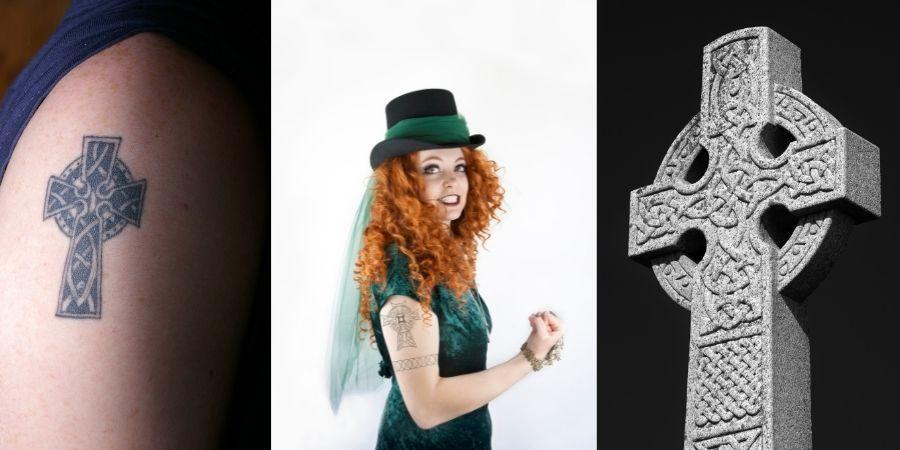 Tatuajes de la cruz celta en el brazo, la mejore representación celta
