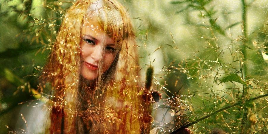 mujeres druidas celtas